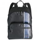 プラダ PRADA メンズ テクニカルナイロン バックパック リュックサック ブラック×ブルー 2VZ066HTY 2CIL TCC