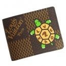 ルイヴィトン 財布 メンズ LOUIS VUITTON NIGO ポルトフォイユ ミュルティプル N60396 ブラウン
