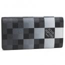 ルイヴィトン N40415 ダミエグラフィットジャイアントキャンバス ポルトフォイユブラザ NM メンズ 長財布