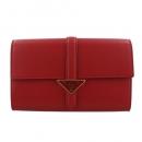 プラダ 二つ折り財布 レディース ブラウン 1ML018 QWA F0046