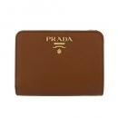 プラダ 二つ折り財布 レディース ベージュ 1ML018 QWA F0236