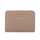 プラダ 二つ折り財布 レディース レッド 1ML036 QWA F068Z
