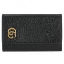 グッチ 財布 Petite Marmont プチマーモント 二つ折り財布 ブラック 456122 CAO0G 1000