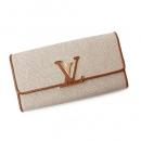 ルイ ヴィトン ポルトフォイユ カプシーヌ(二つ折長財布) トリヨンレザー×パイソン ピンク N92927
