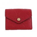 ルイヴィトン 三つ折り財布 ポルトフォイユ ゾエ スカーレット M58879