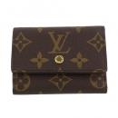 ルイヴィトン 三つ折り財布 ポルトフォイユ マイクロ フューシャ M68703