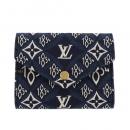 ルイヴィトン 三つ折り財布 ポルトフォイユ ヴィクトリーヌ ブルー M80211