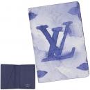 ルイヴィトン  カードケース ウォーターカラー モノグラム キャンバス オーガナイザー ドゥ ポッシュ ブルー M80455