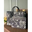 Louis Vuitton メンズ トートバッグ グレー 黒 M57284