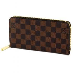 ルイヴィトン 長財布(ラウンドファスナー) N60015 ダミエ