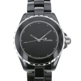 シャネル J12 38mm アンタイトル H5581 ブラック文字盤 メンズ 腕時計