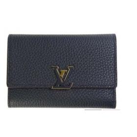 ルイヴィトン LOUIS VUITTON 財布 三つ折り ポルトフォイユ カプシーヌ コンパクト M62157