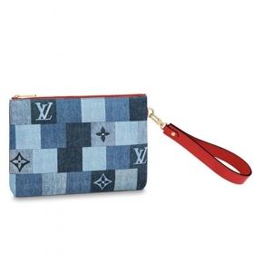 Louis Vuitton シティ ポシェット/ポーチ デニム M68761