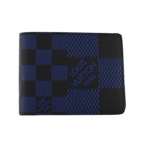 ルイヴィトン 二つ折り財布 ダミエ ポルトフォイユ ミュルティプル N60440
