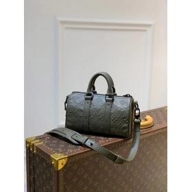 Louis Vuitton ショルダーバッグ モノグラム レザー 黒 M57960